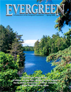 Cover of Spring 2000 Issue of Evergreen Magazine
